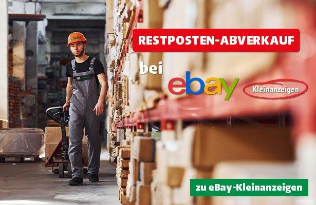 RESTPOSTEN-ABVERKAUF bei eBay-Kleinanzeigen